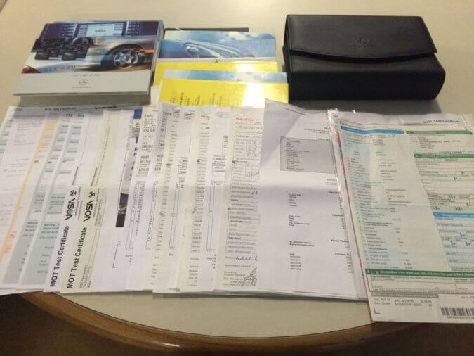 selling a car documents