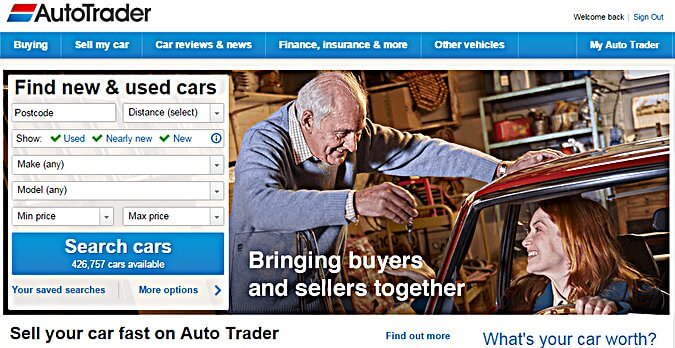 valuation tool to sell car online Autotrader