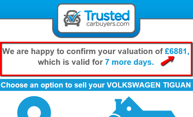 car buying sites official valuation