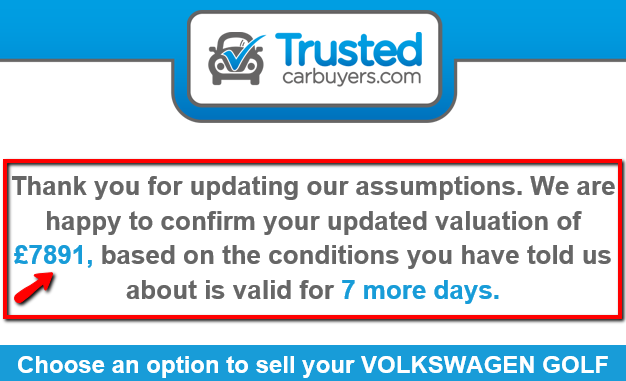 online quote Trusted Car Buyers