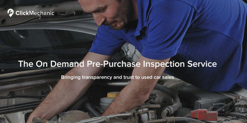 vehicle inspection image of click mechanic
