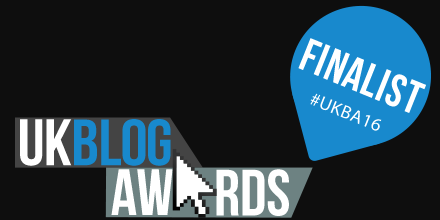 UK Blog Awards Finalist? I Didn't Expect That!