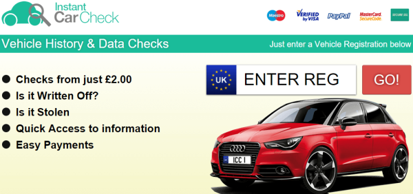 instant car check review image