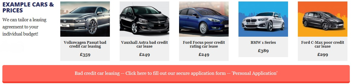 non status car leasing image The Used Car Guy