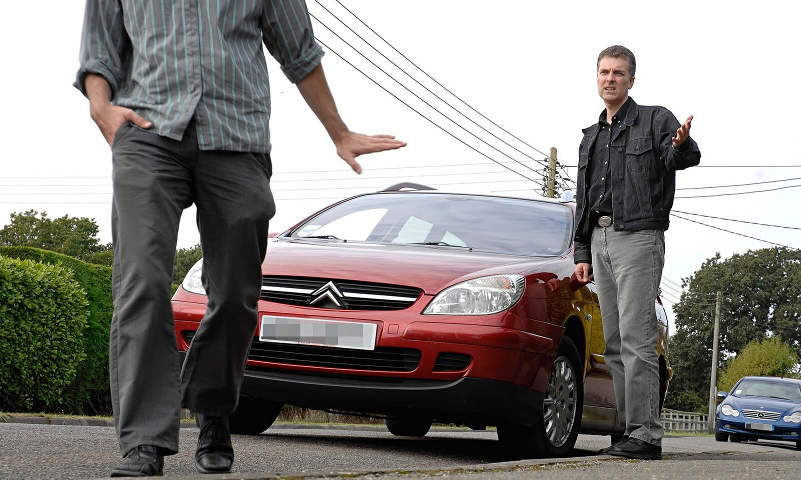 Car Accident Total Loss Examination