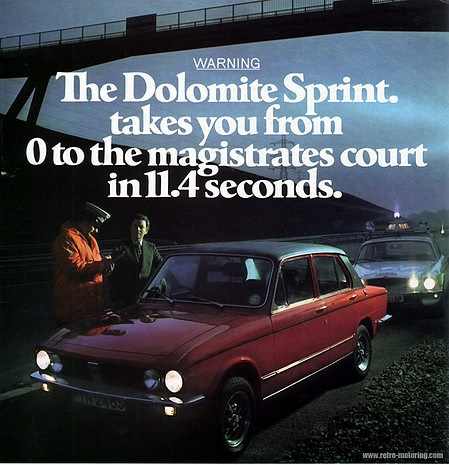 classic Dolomite print ad image