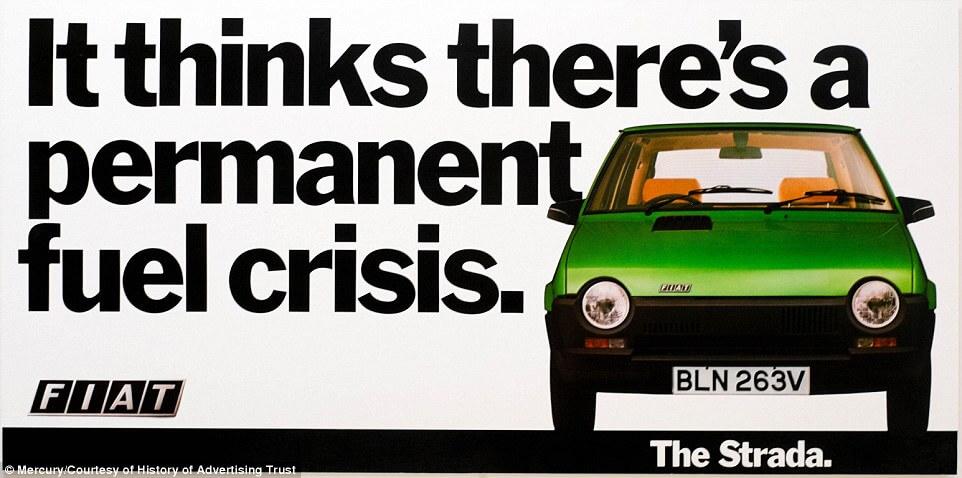 Fiat car economy print copy advert