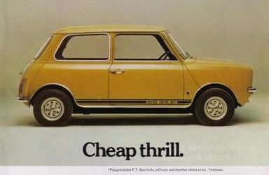 Best Car Adverts of All Time