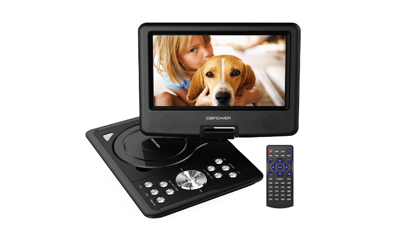 Car DVD player that is portable from Tescos image for The Used Car Guy