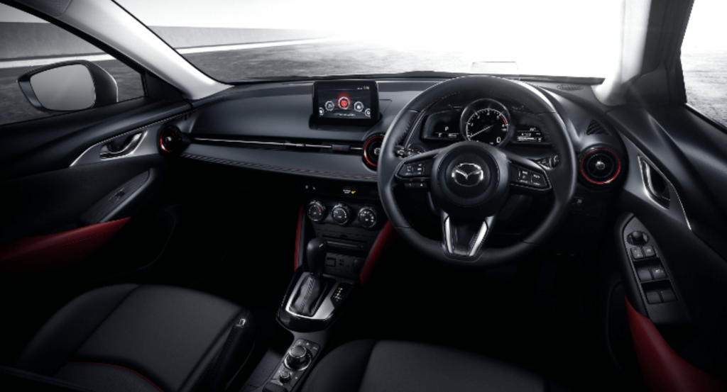 Interior image of Mazda CX 3 from Motorpoint cars