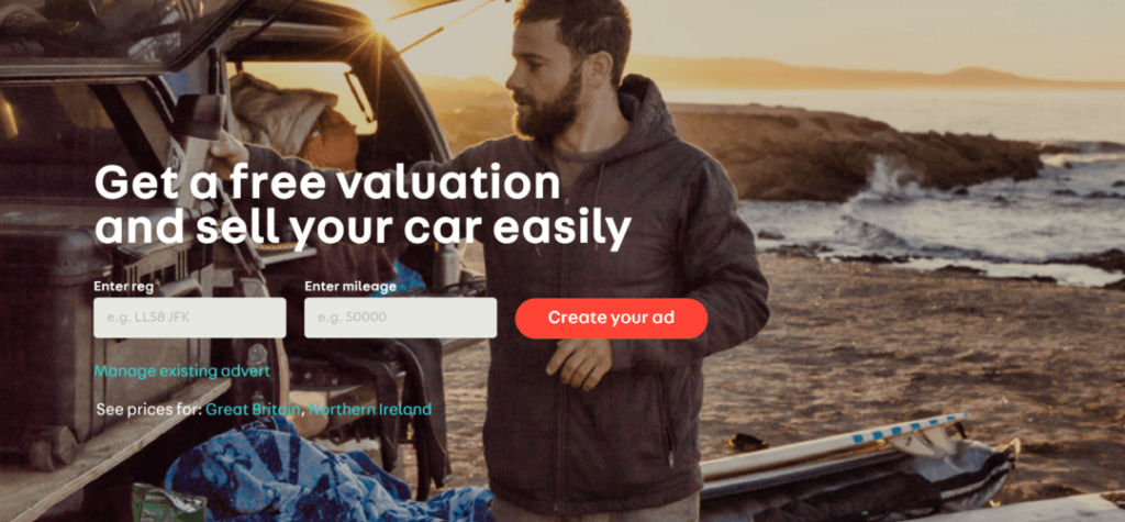 free car valuation tool online with Auto Trader UK